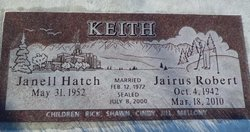 Janell <i>Hatch</i> Keith
