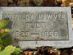 Matilda <i>Hawver</i> Flint