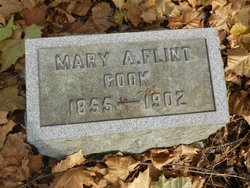 Mary A. <i>Flint</i> Cook