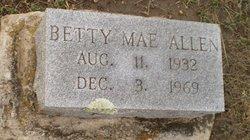 Betty Mae Allen