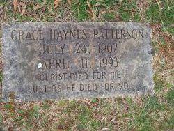 Grace <i>Haynes</i> Patterson