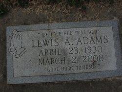 Lewis A. Adams