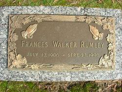 Frances <i>Walker</i> Rumley