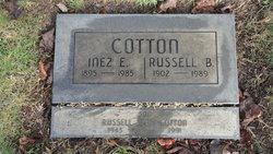 Inez Etta <i>Bailey</i> Cotton