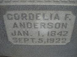 Cordelia Frances <i>Wright</i> Anderson