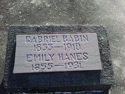 Emily <i>Hanes</i> Babin