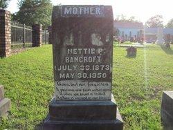 Nettie Virginia <i>Pigford</i> Bancroft