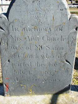 Ann <i>Davis</i> Church