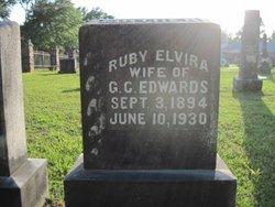 Ruby Elvira <i>Bancroft</i> Edwards