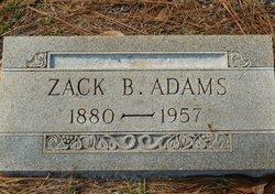 Zack B Adams