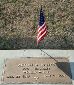 PFC Alton Woodrow Banks