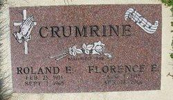 Florence Elizabeth <i>Rogers</i> Crumrine