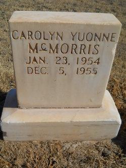 Carolyn Yvonne McMorris