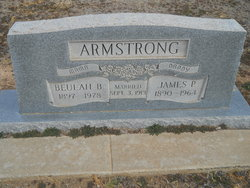 Beulah Belle <i>Barker</i> Armstrong