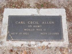 Carl Cecil Allen
