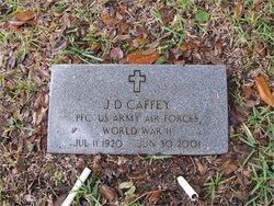 PFC J D Caffey