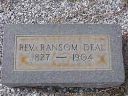 Rev Ransom Caswell Deal, Sr