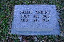Sarah Sally Josephine <i>Harrigill</i> Anding
