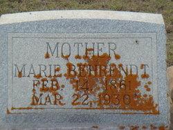 Marie Caroline Mary <i>Soefje</i> Behrendt