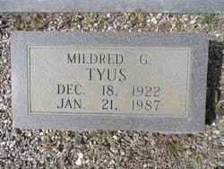 Mildred Gertrude <i>Traywick</i> Tyus