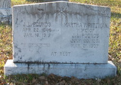 Martha Virginia <i>Pittman</i> Pounds