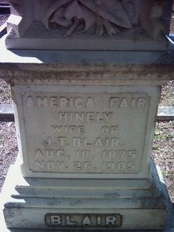 America Fair <i>Hinely</i> Blair