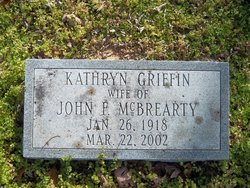 Kathryn <i>Griffin</i> McBrearty