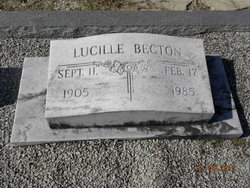 Mary Lucille Becton