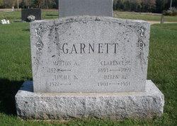 Clarence P Garnett