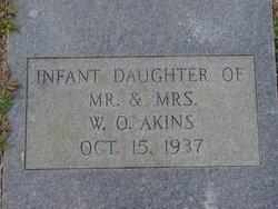 Infant Daughter Akins
