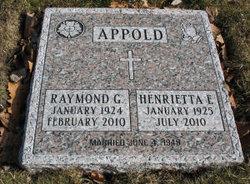 Henrietta Emily <i>Kindt</i> Appold