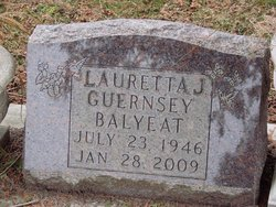 Lauretta J. <i>Guernsey</i> Balyeat