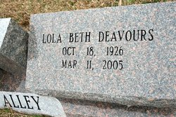Lola Beth <i>Deavours</i> Alley