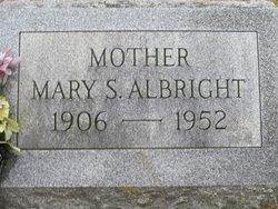 Mary S <i>Hettinger</i> Albright