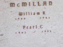 Pearl C McMillan