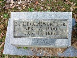 E. J. Ed Ainsworth, Sr