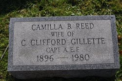Camilla B <i>Reed</i> Gillette