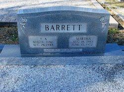 Martha <i>Lewis</i> Barrett