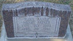 Roxie Anner <i>Meeks</i> Henry Parker