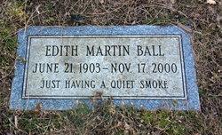 Edith <i>Martin</i> Ball