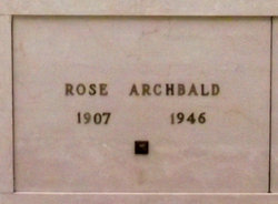 Rose Archbald