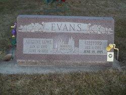 Adaline <i>Lowe</i> Evans