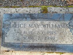Alice May <i>Warren</i> Williams