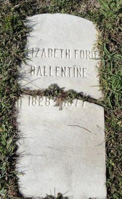 Elizabeth <i>Ford</i> Ballentine