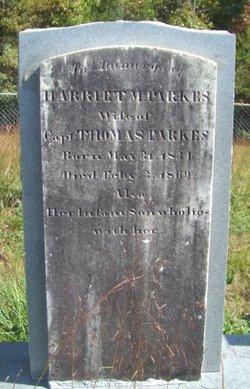Harriet M Parkes