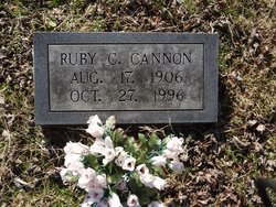 Ruby Irene <i>Cole</i> Cannon