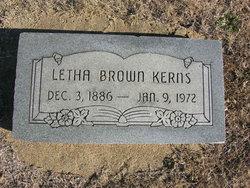 Letha Viana <i>Slape</i> Brown-Kerns