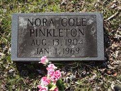 Nora Myrtle <i>Cole</i> Pinkleton