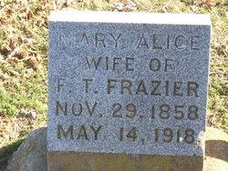 Mary Alice <i>Trevathan</i> Frazier