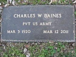 Charles Willard Baines